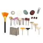 WLXY WL-720 Handy Portable Grinding Cutting Polishing Tool Kit Set - Multicolored