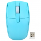 Motospeed G370 Universal-2.4GHz 1000dpi Optical Mouse + USB-Empfänger - Blau (2 x AAA)