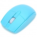 Motospeed G370 Universal 2.4GHz Wireless 1000dpi Optical Mouse + USB Receiver - Blue(2 x AAA)