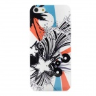 Protective Glow-in-the-Dark Plastic Back Case for Iphone 5 - Multicolor