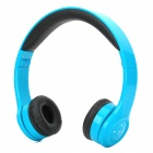 iLeAD IX-3011 Fashionable Sports Stereo Bluetooth V3.0 Headphone w/ Microphone for Cellphone - Blue