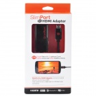 Slimport to HDMI Adapter for Google Nexus 4 / LG / Fujitsu - Black