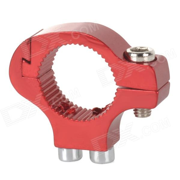 Bicycle Aluminum Alloy Handlebar Water Bottle Holder Convert Adapter - Red