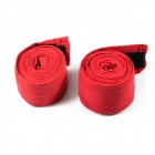 Boxing Adhesive Sports Bandage / Hand Wraps - Red (Pair / 250cm)