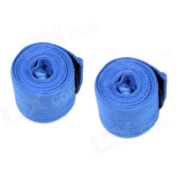 Boxing Adhesive Sports Bandage / Hand Wraps - Blue (Pair / 250cm)