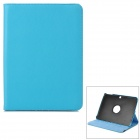 Protective 360 Degree Swivel PU Leathr Case for Samsung Galaxy Tab3 T310 / T311 - Blue