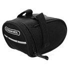 ROSWHEEL 13567 Cycling Bicycle Saddle Seat Tail Bag - Black