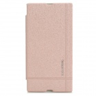 KALAIDENG PU Leather Flip Open Case for Sony Xperia Z Ultra (XL39H) - Light Purple