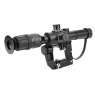 Tactical 4X 26mm Red Light Gun Sight Scope Zielen für AK47 - Schwarz