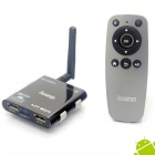 Jesurun MT-05 Quad-Core Android 4.1.1 Google TV Player w/ 2GB RAM, 8GB ROM, IPTV - Black (EU Plug)