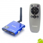 Jesurun MT-05 Quad-Core Android 4.1.1 Google TV Player w/ 2GB RAM, 8GB ROM, IPTV - Blue (EU Plug)