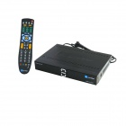 High Performance Ultra HD V2 Satellite Receiver / North America Dedicated Machine / 1080P - Black