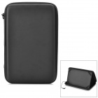 "Protective PU Bag Case Stand w/ Dual Channel Speaker for 9.7"" Tablet PC - Black"