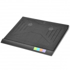 "Q3 USB 2-Fan Cooling Pad for 14~15"" Laptop Computer - Black"