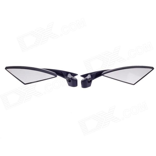 QC-M-045 Universal Triangle Motorcycle Rearview Mirror - Black (Pair) сто газпром 2 3 5 045