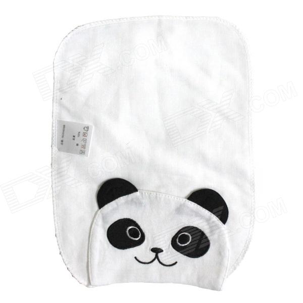 Panda + Little Bear Baby Sweatbands - Black + Blue + White (2 PCS)