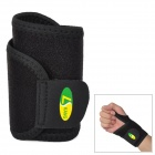 LK 4003 Sport Protective Neoprene + Nylon Wrist Support Guard - Black