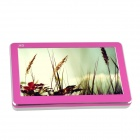 "T18 4.3"" HD Touch Screen MP3 / MP4 / MP5 Player w/ RMVB / FLV / TV Out / 1080P - Pink + White (16GB)"