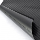 T4DB Air Permeable Carbon Fiber DIY Body Membrane Film - Black + Silver Grey (20 x 152cm)