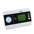 MIEO DC200 Energy Saving Controller / Air Conditioning Power Saver w/ PIR - White + Black (3 x AAA)