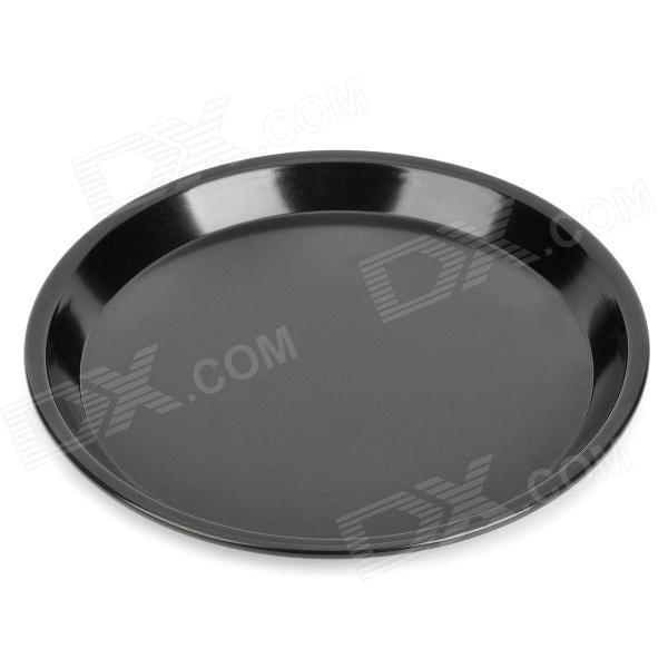 Stainless Steel Round Baking Plate - Black