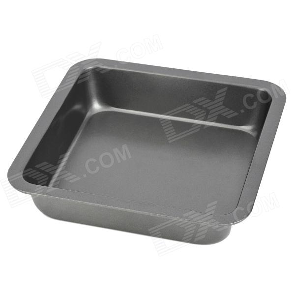 Stainless Steel Square Baking Plate - Ash Black