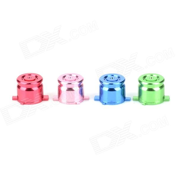 Project Design Replacement Fuction Button for Sony PS 3 / 2 Controller - Multicolor (4 PCS)