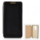 Pudini Protective PU Leather Flip Open Case for LG Optimus G2 - Black