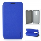 PUDINI Protective PU Leather Flip Open Case for LG Optimus G2 - Blue