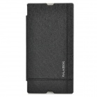 KALAIDENG PU Leather Flip Open Case for Sony Xperia Z Ultra (XL39H) - Black