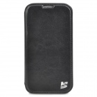 KaLuShi K2 Protecive PU Leather Flip Open Case for Samsung Galaxy S4 / i9500 - Black