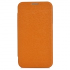 Protective PU Leather Flip Open Case for Samsung i9200 - Brown