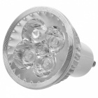 GU10 4W 200lm 3300K 4-LED Warm White Spotlight (85~265V)