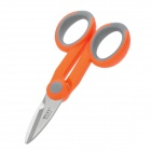 WLXY WL-9011Z Stainless Steel Optical Fiber Cut Siccsors - Orange