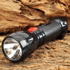 YAGE YG-3882 Rechargeable Epistar LED 35lm 2-Mode White Flashlight - Black