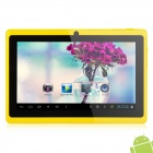 "MID-756 7"" Android 4.2 Tablet PC w/ 512MB RAM / 4GB ROM / Dual Camera - Yellow + Black"