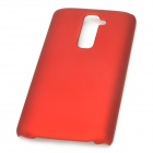 Stylish Protective PC Back Case for LG Optimus G2 - Red
