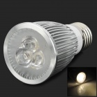 E27 9W 400lm 3200K 3-LED Warm White Spotlight (85~265V)