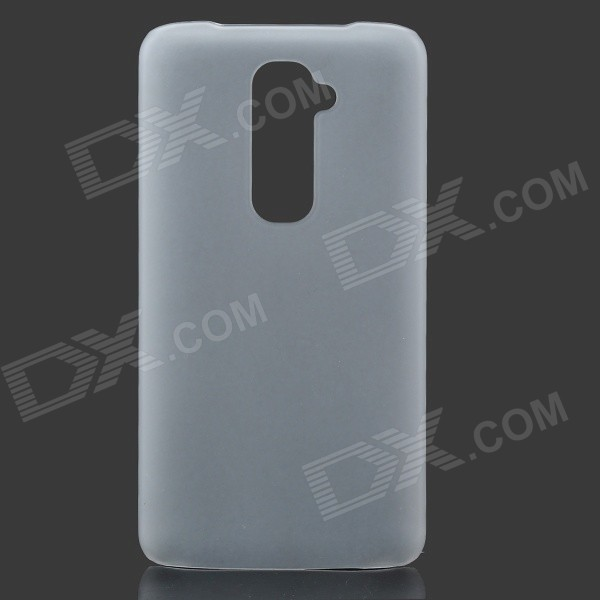Pudini Protective Frosted PC Back Case for LG Optimus G2 - Translucent White protective silicone case for nds lite translucent white