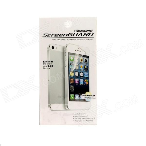 PET Glossy Screen Guard for Motorola X Phone - Transparent