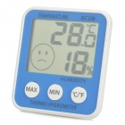 DC108 Portable Indoor Electronic Thermometer & Hygrometer (1 x AAA)