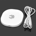 Universal QI Standard Mini Mobile Wireless Charger - White