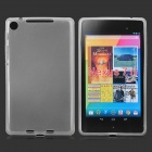 Protective Silicone Back Case for Google Nexus 7 II - Transparent