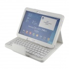 Detachable 80-Key Bluetooth V3.0 Keyboard Case for Samsung Galaxy Tab 3 10.1 (P5200) - White