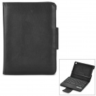 Detectable 61-Key Bluetooth v3.0 Keyboard PU Leather Case for Google Nexus 7 - Black