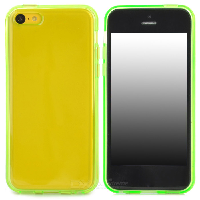 Stylish Protective TPU Back Case for Iphone 5C - Green disney disney принцесса