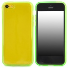 Stylish Protective TPU Back Case for Iphone 5C - Green