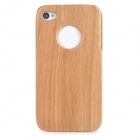Protective Wooden Case for Iphone 4 / 4S - Brown