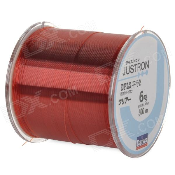 Tensile Spool Nylon Fishing Line - Red (500m / 6#)