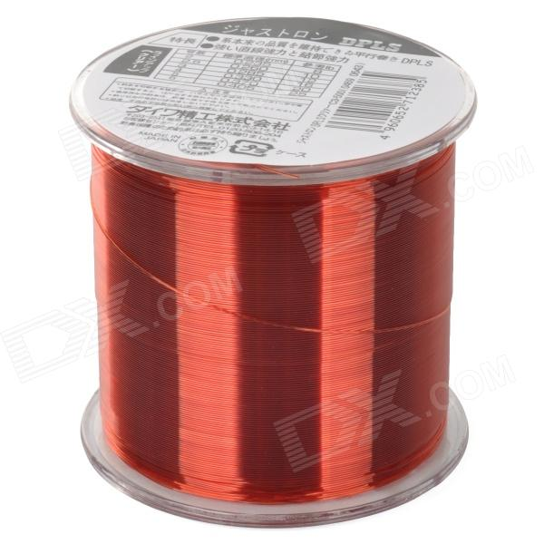 Tensile spool nylon fishing line red 500m 6 free for Red fishing line
